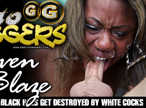 Heaven Blaze Degraded on Ghetto Gaggers